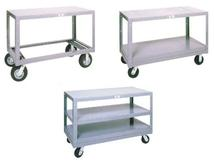 Mobile Steel Tables