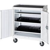 Sandusky Mobile Tablet Storage Cart
