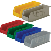 Lewis Bins PB104-4 Part Bin in 6 different colors