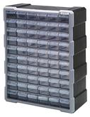 Quantum PDC-60BK Plastic Drawer Cabinets with 39 Drawers