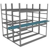 Tennsco Horizontal Bar Rack