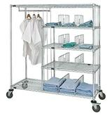 Quantum Patient Apparel Cart