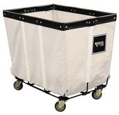 Permanent Liner Basket Trucks - Wire Base - Canvas