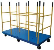 Vestil Platform Cart with Versatile Dividers