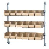 Quantum Post Wall Mount Cantilever with Bin Holders - Complete Packages