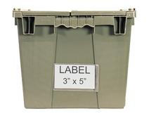 Quantum QDL-2115 Label For Attached Top Containers
