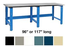 R-Series Workbenches with Stainless Steel Top BenchPro 96 or 117 Long