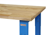 R-Series with 1.75 Thick Top Urethane Protective Coating Solid Maple Hardwood Top