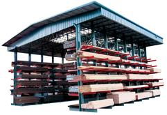 Material Flow Storage Rack Buildings