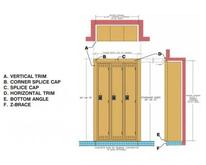 Tennsco Recessed Locker Accessories