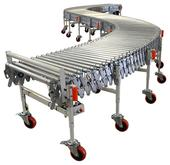 Roach Powered Flexible Loading & Unloading Conveyor