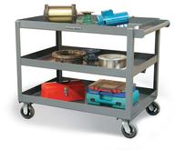 Strong Hold Service Cart with 3 Shelves