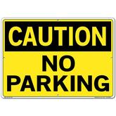 Vestil Sign - Caution No Parking