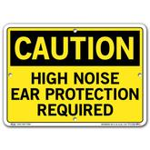 Vestil Caution High Noise