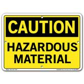 Vestil Caution Hazardous Material