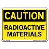 Vestil Caution Radioactive Materials