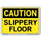 Vestil Caution Slippery Floor
