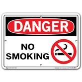 Vestil Danger No Smoking