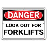 Vestil Danger Look Out for Forklifts