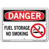Vestil Danger Fuel Storage No Smoking