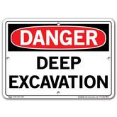Vestil Danger Deep Excavation