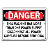 Vestil Danger Machine Has More Than One Power Supply