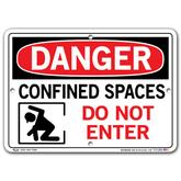 Vestil Danger Confined Space Do Not Enter