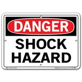 Vestil Danger Shock Hazard