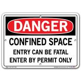 Vestil Danger Confined Space Entry Can Be Fatal