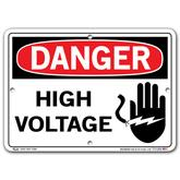 Vestil Danger High Voltage