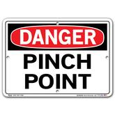Vestil Danger Pinch Point