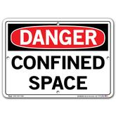 Vestil Danger Confined Space