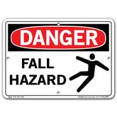 Vestil Danger Fall Hazard