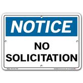 Vestil Notice No Solicitation