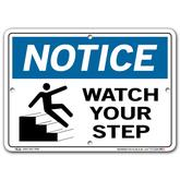 Vestil Notice Watch Your Step