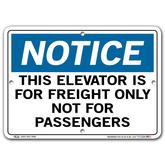 Vestil Notice This Elevator Is For Freight Only Not For Passengers