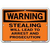 Vestil Warning Stealing Will Lead to Arrest and Prosecution
