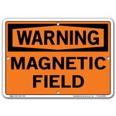 Vestil Warning Magnetic Field