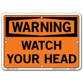 Vestil Warning Watch Your Head
