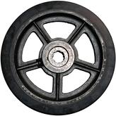 SM102.25I Mold-On Rubber Iron Core Wheel