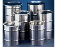 Skolnik Industries Stainless Steel Drums