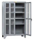 High Visibility Storage Cabinet 4 Adjustable Shelves