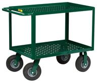 Little Giant Service Cart - Perforated Deck - Model No. LGLP-2436-9P-G