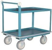 Hamilton Shelf Trucks - Series SH5003 (shown with optional bumpers)