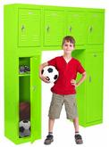 Sandusky Welded Steel Colored Locker - 48 Inches High