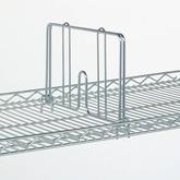Metro Snap-On Dividers for Drop Mat Shelves