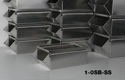 Stainless Steel Stackbins Model 1-0SB-SS