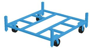 Stromberg Stacking Rack Cart