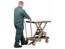Vestil Stainless Steel Scissor Cart Model No. SSSC-1000