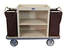 Standard Housekeeping Cart - 2 Shelf and 2 Bags